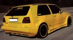 as far as i know yhis is the 'screaming yellow zonker'.  one of two callaway turbo mk2 golfs