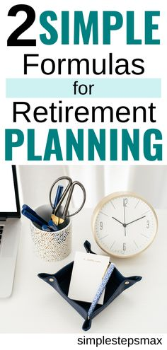 Every good retirement savings plan should include these 2 simple calculations when preparing for retirement. Make sure you know how much money you need to save for retirement. #personalfinance #moneytips #retirement #financialtips Retirement Savings Plan, Preparing For Retirement, Retirement Accounts, Early Retirement, Retirement Planning, Save My Money, Ways To Save Money, Saving For College, Investment Portfolio
