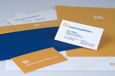 Stationery package for Chattanooga Matters