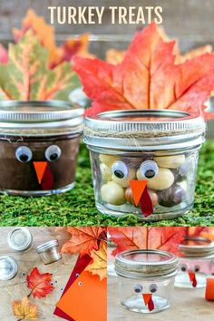 Kids Will Gobble Up These Fun Turkey TreatsYou can find Thanksgiving and more on our website.Kids Will Gobble Up These Fun Turkey Treats Thanksgiving Diy, Thanksgiving Centerpieces, Thanksgiving Teacher Gifts, Thanksgiving Cookies, Thanksgiving Celebration, Thanksgiving Activities, Holiday Treats, Holiday Foods, Christmas Foods
