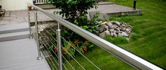 A stunning alternative to traditional decking balustrades, our Cable Rail System brings a contemporary and stylish touch your deck 👌 #garden #design #homedecor #balustrade