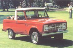 "Nice early Bronco. The "" SUV"" I wish I had."