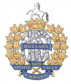 1st Hussars. Royal Canadian Navy, Canadian Army, Canadian History, British Army, Military Units, Military Art, Afghanistan War, Family Crest, Letterhead