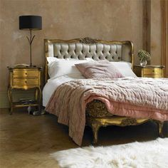 Golden slumbers~ I LOVE the quilt. :)(PlumSiena: This and That)