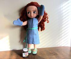 Tablier et moufles de cuisine compatible poupées 40 cm Animator