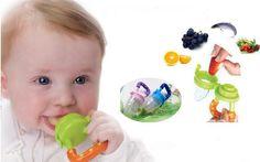 TI US Nipple Fresh Food Milk Nibbler Feeder Feeding Tool Safe Baby Supplies **************************************** מוצץ רשת לטעימה בטוחה של פירות וירקות לפעוטות רק ב 5 שקל כולל משלוח חינם