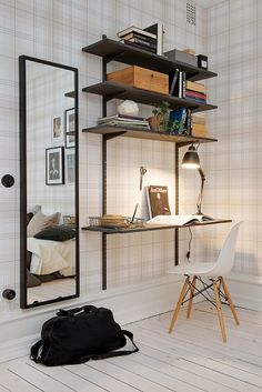 Browse pictures of home office design. Here are our favorite home office ideas that let you work from home. Shared them so you can learn how to work. Home Office Design, Home Office Decor, Diy Home Decor, House Design, Office Ideas, Office Designs, Office Table, Tiny Home Office, Office Lounge