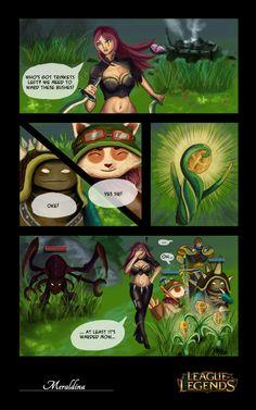 League of Legends Lolz Comic by Meraldina.deviantart.com on @deviantART