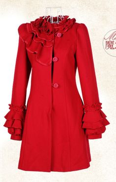 Every girl needs a RED COAT!