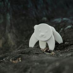 3D Cork Pals: Bear eat Beats, UAUproject Download on https://cults3d.com #3Dprinting