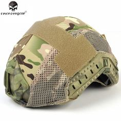 Emerson Tactical Helmet Cover for Fast Helmets BJ/PJ/MH Nylon Outdoor Paintball Airsoft Tactical Military Helmet Cloth EM8809 #