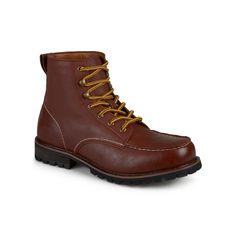 Vance Co. Carson Men's Work Boots, Size: medium (13), Brown
