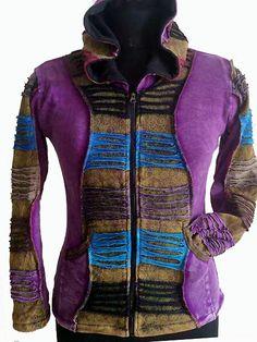 Activewear Collection Here Little Kathmandu Pixie Hoodie Hoody Boho Hippy Festival Xl L Glastonbury Hoodies & Sweatshirts