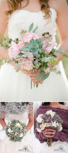 Ramos de novia: alternativas originales al ramo de novia tradicional