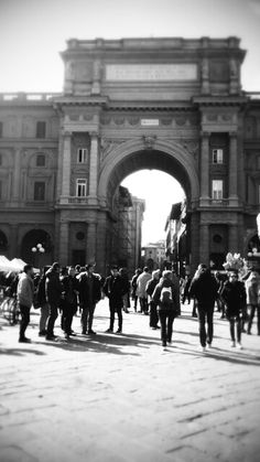 Piazza della Republica, Firenze