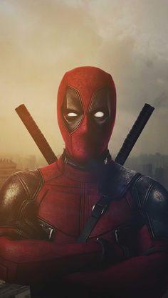Superhero Deadpool 4K Ultra HD Mobile Wallpaper