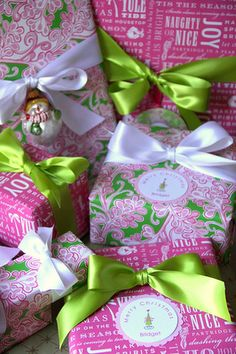 beautiful xmas gift or gift wrap with lp