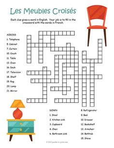 1000 images about french puzzles on pinterest crossword for Le meuble villageois furniture