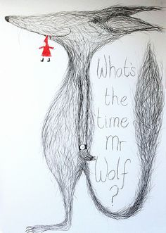 What's the time Mr Wolf?   Hazel Terry