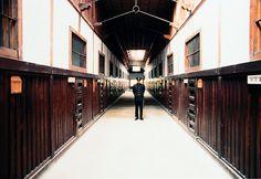 Abashiri prison museum in Japan
