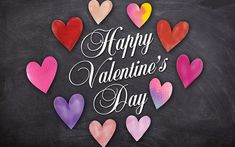 Download wallpapers Happy Valentines Day, 4k, hearts, creative, Valentines Day