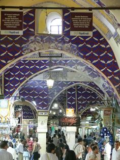 Grand Bazaar - Blue Tiles (photo by Peggy Mooney)