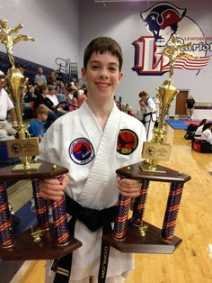 2nd Degree Black Belt Jimmy Donlon took first in both forms and sparring at the CTF Regional Tournament in Olive Branch, MS, Aug. 18, 2012.