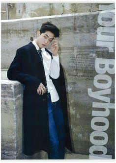 Nam Joohyuk, Lee Seongkyeong and Jang Kiyong by Park Jungmin for Cosmopolitan Korea Nov 2014