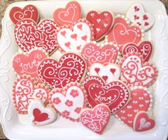 #valentine #heart #Cookies