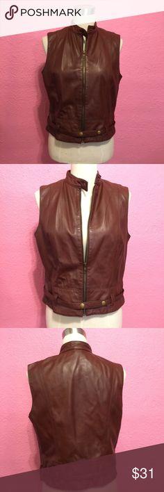 Cabi. Leather vest. Cabi. Leather vest. CAbi Jackets & Coats Vests