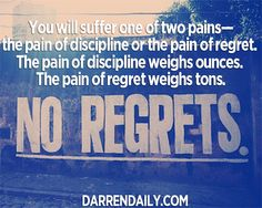 No Regrets - Darren Daily Day 10