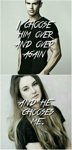 Four and Tris #Fourtris #divergent #insurgent #allegiant