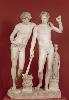 Orestes y Pílades o Grupo de San Ildefonso - Colección - Museo Nacional del Prado