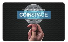 The new designed smart business card for Coinspace Cryptocurrency and beyond, with the touch tag and scan to all smart devices and platform.
