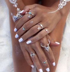 These adorable knuckle rings are a must have!