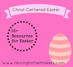 Christ Centered Easter Ideas~  lots of free printables and ideas!