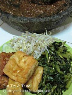 Just Try & Taste: Rujak Petis
