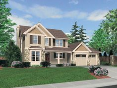 Traditional House Plan Front of Home 011D-0245 undefined from houseplansandmore.com