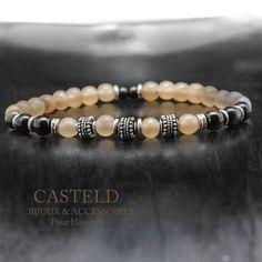 Le Bracelet Homme en corne de Casteld... Des matières et du naturel pour un bijoux intemporelle et sobre. #bijouxhommecasteld #lifestyle #tendance http://www.casteld.com/bijoux-homme