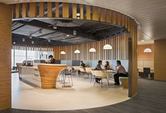 Prudential HQ Singapore | Geyer // #bafco #bafcointeriors Visit www.bafco.com for more inspirations.