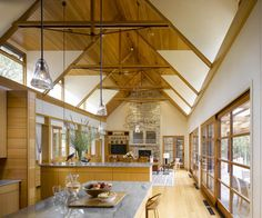 On the Shores of Lake Champlain - contemporary - spaces - burlington - TruexCullins Architecture + Interior Design