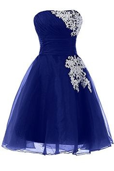 Sunvary Organza and Lace Sweety 16 Pageant Cocktail Foraml Dresses Short Homecoming Cocktail Dresses Bridesmaid Dress Prom Gowns for Evening US Size 2- Royal Blue Sunvary http://www.amazon.com/dp/B00M3RCVJ6/ref=cm_sw_r_pi_dp_yhemub01N1TS3