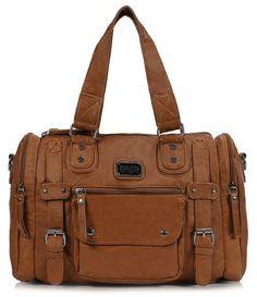 34ba47fcdd Scarleton Soft Barrel Shoulder Bag H148504A - Cognac. Purses And  HandbagsLeather ...