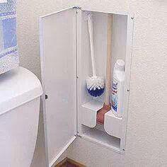Bathroom hideaway