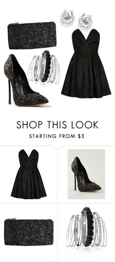"""""""Untitled #19"""" by mercija ❤ liked on Polyvore featuring River Island, Casadei, Volcom and Avenue"""