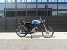 1963 Suzuki M15 by Ted Sliwinski Cool Mopeds * Custom Mopeds * Shit-hot Mopeds