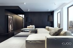 B-B APARTMENT by Katarzyna Kuo Stolarska, via Behance