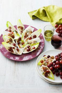 Grape and Chicken Salad Bites  #Recipe  #AustralianGrapes