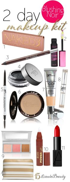 Brooke From Blushing Noir and Her Travel #Makeup Must Haves!