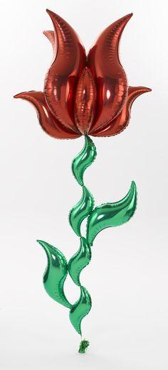Tulip Mylar Balloon